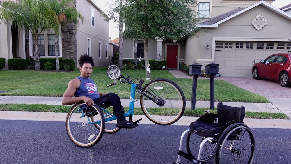 An introduction to my handcycle