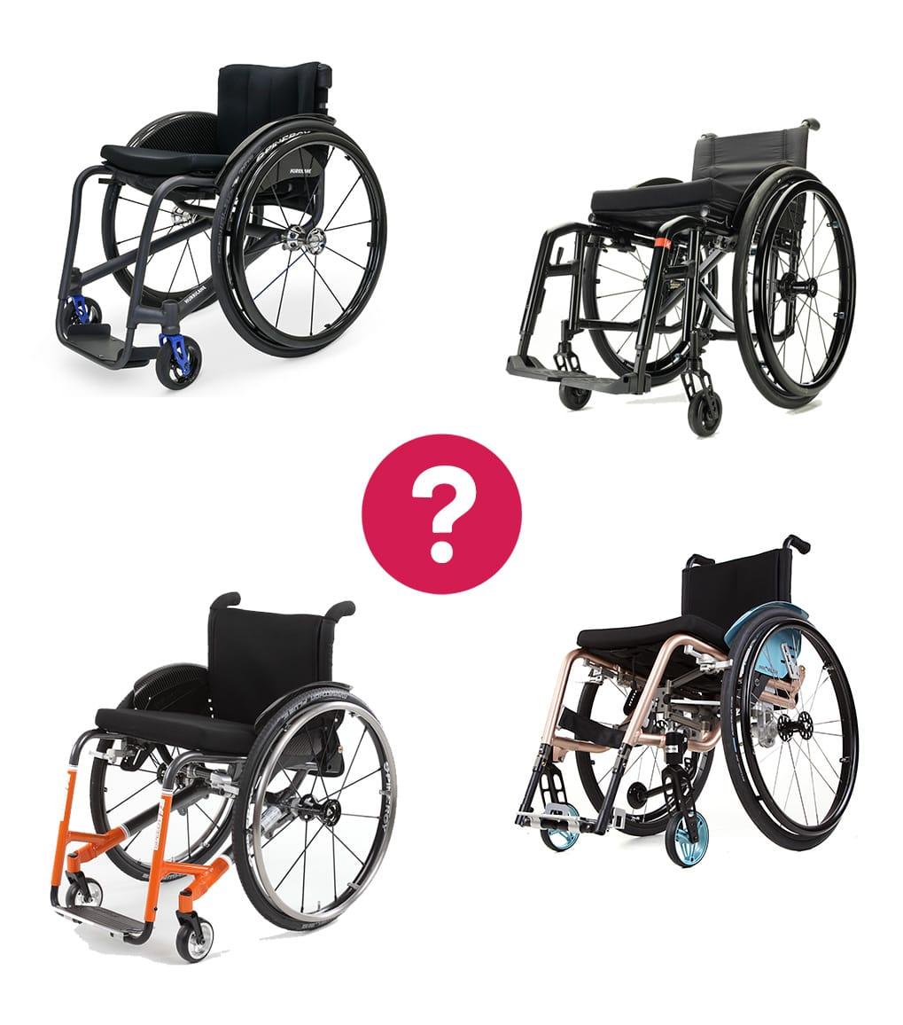 Rollstuhlvergleich